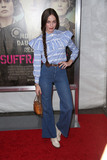 Photo - Hailey Gates attends the New York Premiere of Focus Features Suffragette the Paris Theater NYC October 12 2015 Photos by Sonia Moskowitz Globe Photos Inc