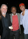 Jackie Collins,George Schlatter,Sidney Poitier,Rick Fox Photo - Lunch Party For Jackie Collins New Novel