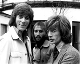 The Bee GEES Photo - The Bee Gees Barry Maurice and Robin Gibb Globe Photos Inc Beegeesretro