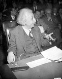 Albert Einstein Photo - Dr Albert Einstein Making a Special Appearance Before the Anglo-american Inquiry on Palestine Hearing at the State Dept in Washington DC 11146 Globe Photos Inc