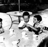 Liza Minnelli Photo - Liza Minnelli 8 Years Old and Stepbrother Joel Luft at Birthday Party 27304 Globe Photos Inc Judygarlandobit