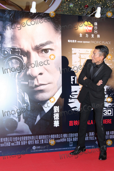 Andy Lau Photo - Actors Andy LauKa Tung Lam and Yao Chen attend premiere of film Firestorm at AMC Pacific Place in Hong KongChina on Sunday December 152013Credit Topphotoface to face- No rights for China and Taiwan -