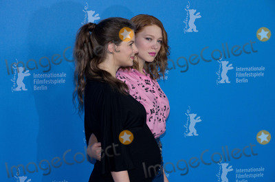Yvonne Catterfeld Photo - Yvonne Catterfeld Lea Seydouxattends Photocall and Press Conference BEAUTY AND THE BEAST Berlinale 14022014Credit Ralleface to face
