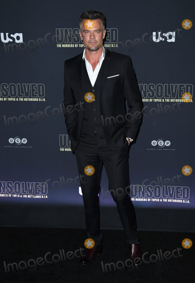 The Notorious B I G Photo - 22 February 2018 - Hollywood California - Josh Duhamel USA Networks Unsolved The Murders of Tupac  The Notorious BIG held at Avalon Hollywood Photo Credit Birdie ThompsonAdMedia