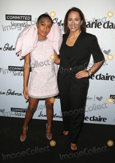 Anne Fulenwide Photo - 27 April 2018 - West Hollywood California - Yara Shahidi Anne Fulenwider Marie Claire Fifth Annual Fresh Faces Event honoring May Cover Stars held at Poppy Photo Credit F SadouAdMedia