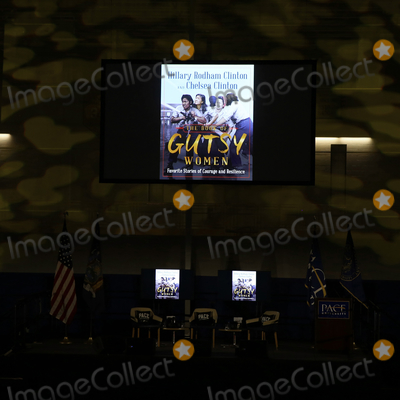 Hillary Rodham Photo - 18 December 2019 - Pleasantville New York - Atmosphere at the Gutsy Women An Evening with Hillary Rodham Clinton and Chelsea Clinton moderated by Vanessa L Williams at Pace University Photo Credit J LingoAdMedia