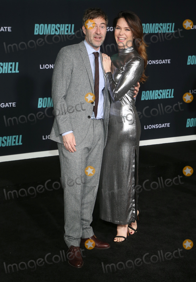 Katie Aselton Photo - 10 December 2019 - Westwood California - Mark Duplass Katie Aselton Special Screening Of Liongates Bombshell held at Regency Village Theatre Photo Credit FSAdMedia