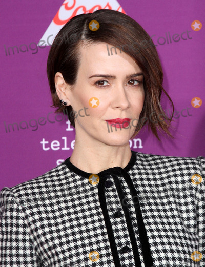Graumans Chinese Theatre Photo - 1 March 2017 - Los Angeles California - Sarah Paulson FXs Feud Bette and Joan Premiere held at the Graumans Chinese Theatre Photo Credit AdMedia