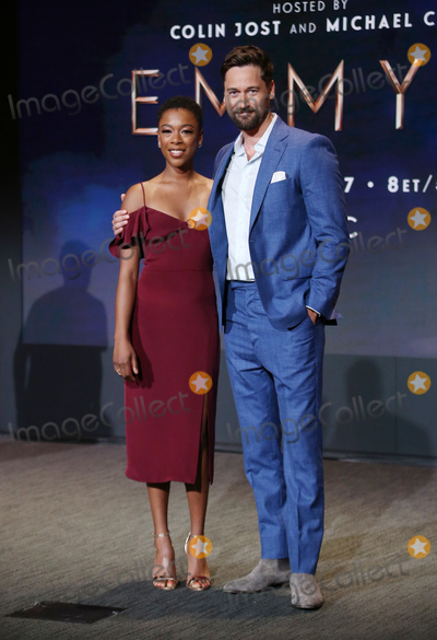 Samira Wiley Photo - 12 July 2018-  North Hollywood California - Samira Wiley Ryan Eggold 70th Emmy Awards Nominations Announcement held at Saban Media Center Photo Credit Faye SadouAdMedia