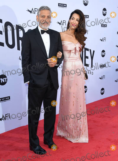 Amal Clooney Photo - 07 June 2018 - Hollywood California - George Clooney Amal Clooney American Film Institute s 46th Life Achievement Award Gala Tribute to George Clooney held at Dolby Theater Photo Credit Birdie ThompsonAdMedia