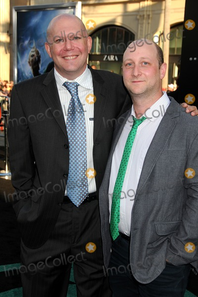 Michael Greene Photo - 15 June 2011 - Hollywood California - Marc Guggenheim and Michael Green Green Lantern Los Angeles Premiere held at Graumans Chinese Theatre Photo Credit Byron PurvisAdMedia