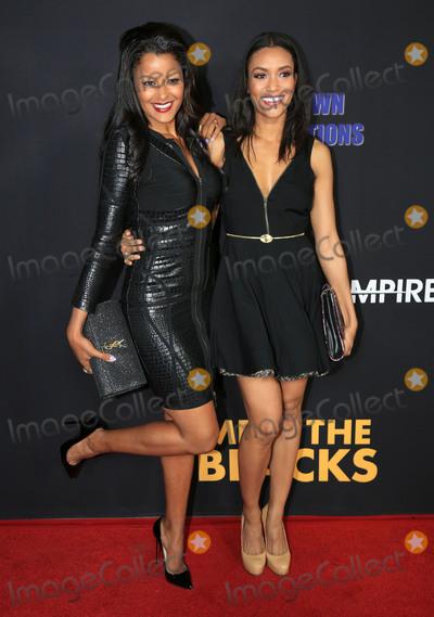 Annie  Ilonzeh Photo - 29 March 2016 - Hollywood California - Claudia Jordan Annie Ilonzeh Meet The Blacks Los Angeles Premiere held at ArcLight Hollywood Photo Credit Winston BurrisAdMedia
