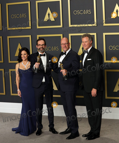 Will Ferrell Photo - 09 February 2020 - Hollywood California -     Andrew Buckland Michael McCusker Julia Louis-Dreyfus Will Ferrel attend the 92nd Annual Academy Awards presented by the Academy of Motion Picture Arts and Sciences held at Hollywood  Highland Center Photo Credit Theresa ShirriffAdMedia