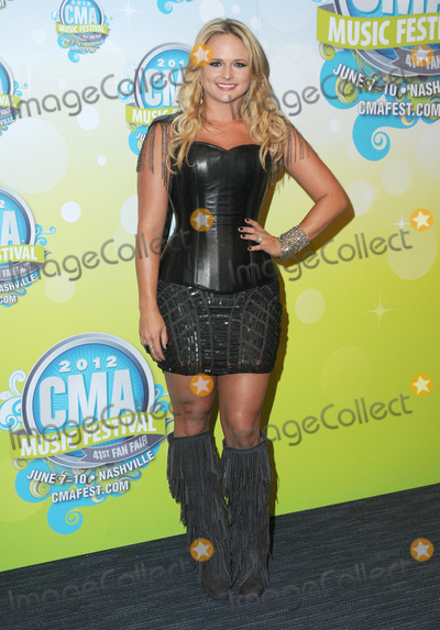 Miranda Lambert Photo - 07 June 2012 - Nashville Tennessee - Miranda Lambert 2012 CMA Music Festival Nightly Press Conference held at LP Field Photo Credit George ShepherdAdMedia