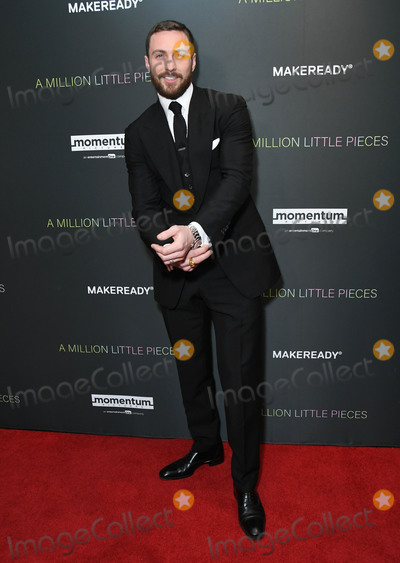 Aaron Taylor-Johnson Photo - 04 December 2019 - West Hollywood California - Aaron Taylor-Johnson Special Screening Of Momentum Pictures A Million Little Pieces held at The London West Hollywood Photo Credit Birdie ThompsonAdMedia