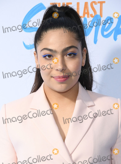 Allegra Acosta Photo - 29 April 2019 - Hollywood California - Allegra Acosta Netflixs The Last Summer Los Angeles Special Screening held at TCL Chinese 6 Theatre Photo Credit Birdie ThompsonAdMedia