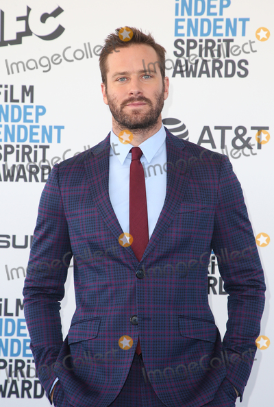 Armie Hammer Photo - 23 February 2019 - Santa Monica California - Armie Hammer 2019 Film Independent Spirit Awards - Arrivals held at the Santa Monica Pier Photo Credit Faye SadouAdMedia