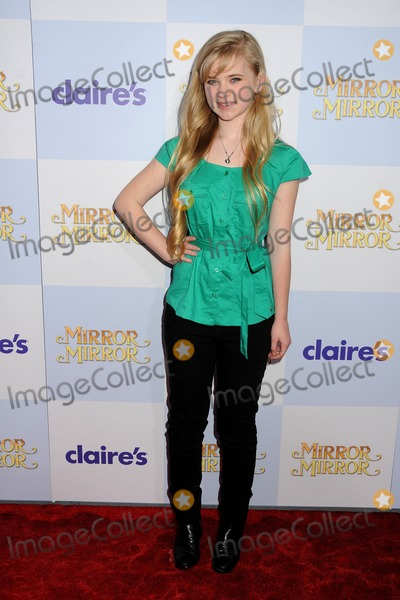 Sierra McCormick Photo - 17 March 2012 - Los Angeles California - Sierra McCormick Mirror Mirror Los Angeles Premiere held at Graumans Chinese Theatre Photo Credit Byron PurvisAdMedia