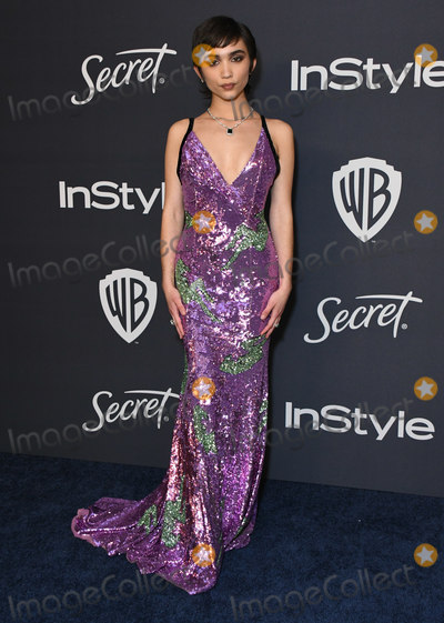 Rowan Blanchard Photo - 05 January 2020 - Beverly Hills California - Rowan Blanchard 21st Annual InStyle and Warner Bros Golden Globes After Party held at Beverly Hilton Hotel Photo Credit Birdie ThompsonAdMedia