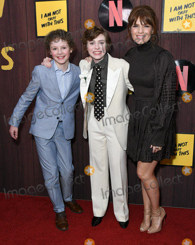 Aidan Wojtak-Hissong Photo - 25 February 2020 - West Hollywood California - Aidan Wojtak-Hissong Sophia Lillis Katheleen Rose Perkins Netflixs Im Not Okay With That Los Angeles Premiere held at The London West Hollywood Photo Credit Birdie ThompsonAdMedia
