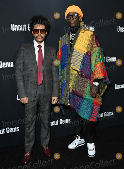 Young Thug Photo - 11 December 2019 - Hollywood California - The Weekend Young Thug A24s Uncut Gems Los Angeles Premiere held at The Dome at Arclight Hollywood Photo Credit Birdie ThompsonAdMedia