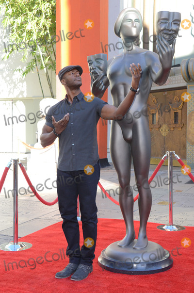Aldis Hodge Photo - 26 January  - Hollywood Ca - Aldis Hodge SAG Awards Actor visits Hollywoods TCL Chinese Theater with SAG Awards nominees Aldis Hodge and Neil Brown Jr held at TCL Chinese Theater  Photo Credit Birdie ThompsonAdMedia