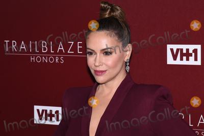 Alyssa Milano Photo - 20 February 2019 - Los Angeles California - Alyssa Milano VH1 Trailblazer Honors celebrate female empowerment held at Wilshire Ebell Theatre Photo Credit Billy BennightAdMedia