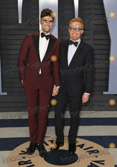Jesse Tyler Ferguson Photo - 04 March 2018 - Los Angeles California - Justin Mikita Jesse Tyler Ferguson 2018 Vanity Fair Oscar Party hosted following the 90th Academy Awards held at the Wallis Annenberg Center for the Performing Arts Photo Credit Birdie ThompsonAdMedia