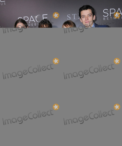 Asa Butterfield Photo - 17 January 2017 - Hollywood California - Janet Montgomery Carla Gugino Britt Robertson Asa Butterfield 2017 The Space Between Us special Los Angeles screening held at Arclight Hollywood Photo Credit Birdie ThompsonAdMedia