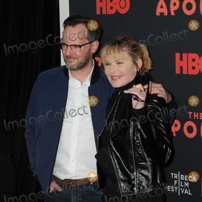 Kim Cattrall Photo - 24 April 2019 - New York New York - Russell Thomas and Kim Cattrall at the Opening Night of the 2019 Tribeca Film Festival World Premiere of HBO Documentary Film THE APOLLO at The Apollo in Harlem Photo Credit LJ FotosAdMedia