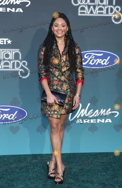 Tanisha Long Photo - 17 November 2019 - Las Vegas NV - Tanisha Long 2019 Soul Train Awards Red Carpet Arrivals at Orleans Arena Photo Credit MJTAdMedia