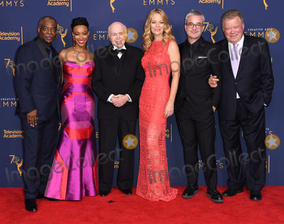 Alex Kurtzman Photo - 08 September 2018 - Los Angeles California - LeVar Burton Sonequa Martin-Green Walter Koenig Jeri Ryan Alex Kurtzman Alex Kurtzman 2018 Creative Arts Emmys Awards - Press Room held at Microsoft Theater Photo Credit Birdie ThompsonAdMedia