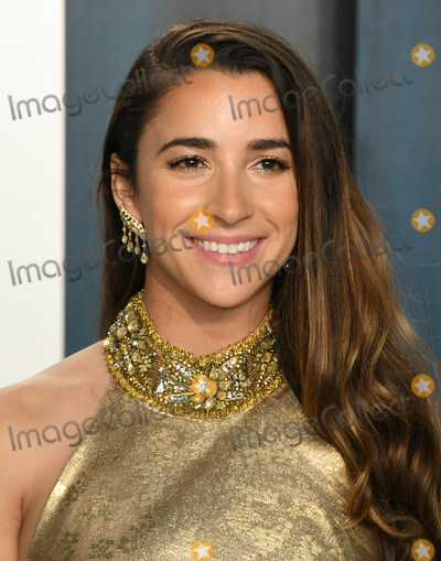 Aly Raisman Photo - 09 February 2020 - Los Angeles California -  2020 Vanity Fair Oscar Party following the 92nd Academy Awards held at the Wallis Annenberg Center for the Performing Arts Photo Credit Birdie ThompsonAdMedia