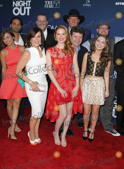 Andrea Logan-White Photo - 29 April 2014 - Hollywood California - Sean Astin Trace Adkins Sarah Drew Sammi Hanratty Patricia Heaton Abbie Cobb Andrea Logan White David Hunt  Moms Night Out World Premiere held at the TCL Chinese Theatre Photo Credit F SadouAdMedia