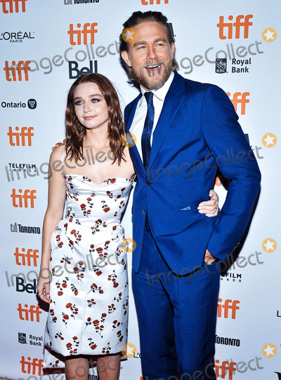 Wale Photo - 12 September 2019 - Toronto Ontario Canada - Jessica Barden Charlie Hunnam 2019 Toronto International Film Festival - Jungleland Photo Call held at Princess of Wales Theatre Photo Credit Brent PerniacAdMedia