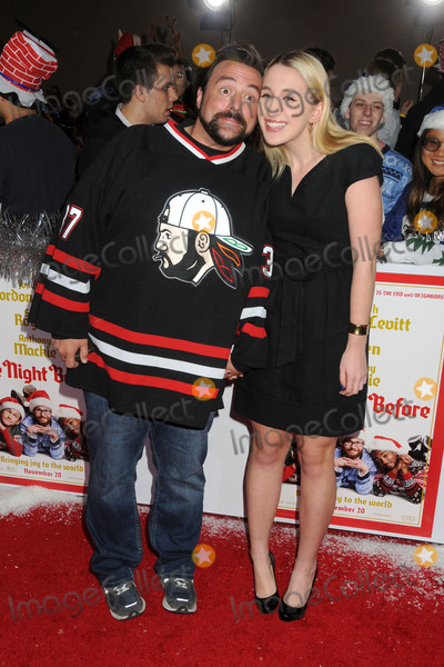 Jennifer Schwalbach Smith Photo - 18 November 2015 - Los Angeles California - Kevin Smith Jennifer Schwalbach Smith The Night Before Los Angeles Premiere held at The Ace Hotel Photo Credit Byron PurvisAdMedia