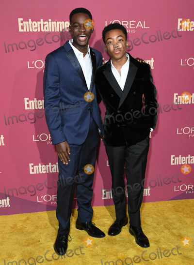 Ethan Herisse Photo - 20 September 2019 - West Hollywood California - Ethan Herisse Asante Black 2019 Entertainment Weekly Pre-Emmy Party held at Sunset Tower Photo Credit Birdie ThompsonAdMedia