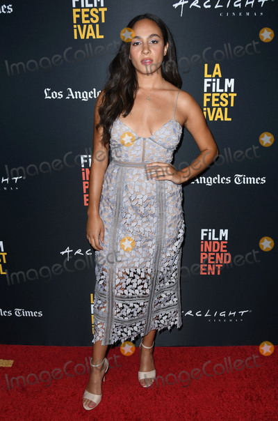 Aurora Perrineau Photo - 21 September 2018 - Beverly Hills California - Aurora Perrineau 2018 LA Film Festival - Into The Dark The Body World Premiere held at the Writers Guild Theater Photo Credit Birdie ThompsonAdMedia