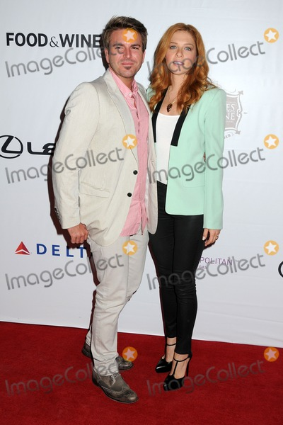 Chris Crary Photo - 24 August 2013 - Los Angeles California - Chris Crary Rachelle Lefevre 3rd Annual Los Angeles Food  Wine Festival held Downtown on Grand Ave Photo Credit Byron PurvisAdMedia