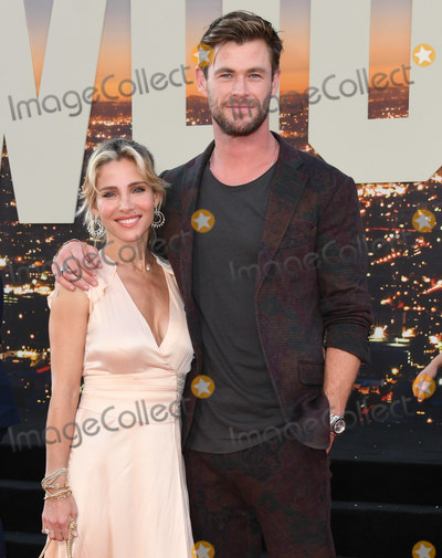 Chris Hemsworth Photo - 22 July 2019 - Hollywood California - Elsa Pataky Chris Hemsworth Once Upon A Time In Hollywood Los Angeles Premiere held at The TCL Chinese Theatre Photo Credit Birdie ThompsonAdMedia