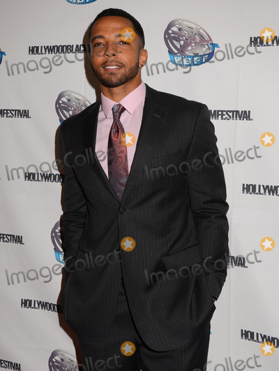 Christian Keyes Photo - 06 October  2013 - Hollywood California - Christian Keyes   Arrivals for the closing night of the Hollywood Black Film Festival at the Montalban Theater in Hollywood Ca Photo Credit Birdie ThompsonAdMedia