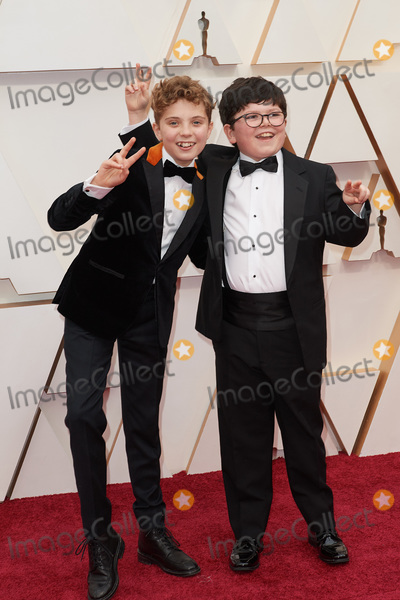 Archie Yates Photo - 09 February 2020 - Hollywood California - Roman Griffin Davis and Archie Yates 92nd Annual Academy Awards presented by the Academy of Motion Picture Arts and Sciences held at Hollywood  Highland Center Photo Credit AMPASAdMedia