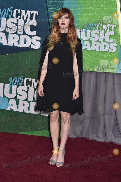 Aubrey Peeples Photo - 10 June 2015 - Nashville Tennessee - Aubrey Peeples 2015 CMT Music Awards held at Bridgestone Arena Photo Credit Laura FarrAdMedia