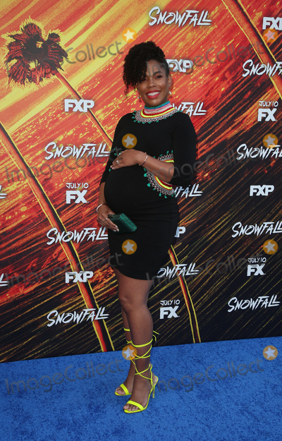Angela Lewis Photo - 8 July 2019 - Los Angeles California - Angela Lewis The Premiere Of FXs Snowfall Season 3 held at Bovard Auditorium At USC Photo Credit Faye SadouAdMedia