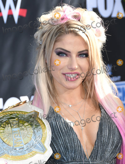 Alexa Bliss Photo - 04 October 2019 - Los Angeles California - Alexa Bliss WWE 20th Anniversary Celebration Marking Premiere Of WWE Friday Night SmackDown On FOX held at Staples Center Photo Credit Birdie ThompsonAdMedia