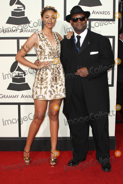 Bella Harris Photo - 15 February 2016 - Los Angeles California - Jimmy Jam and daughter Bella Harris 58th Annual GRAMMY Awards held at the Staples Center Photo Credit AdMedia