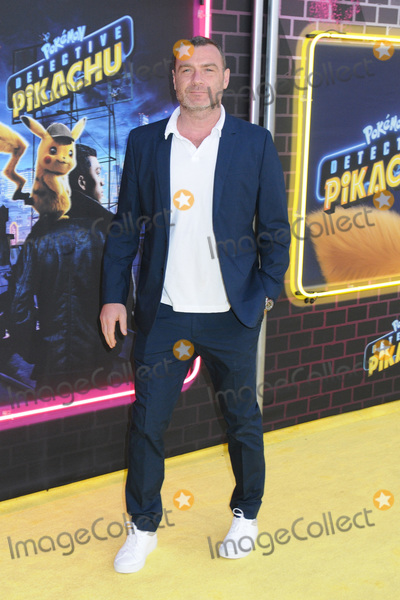 Liev Schreiber Photo - 02 May 2019 - New York New York - Liev Schreiber at the US Premiere of Pokmon Detective Pikachu on the Military Island in Times Square Photo Credit LJ FotosAdMedia
