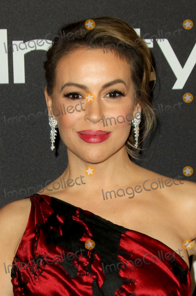 Alyssa Milano Photo - 06 January 2019 - Beverly Hills  California - Alyssa Milano 2019 InStyle and Warner Bros 76th Annual Golden Globe Awards After Party held at The Beverly Hilton Hotel Photo Credit AdMedia