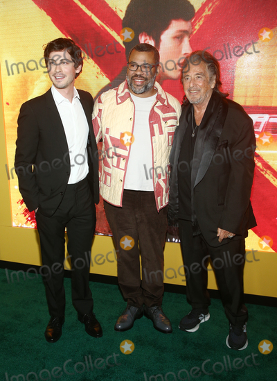 Al Pacino Photo - 19 February 2020 - Los Angeles California - Logan Lerman Jordan Peele and Al Pacino the world premiere of Hunters held at DGA Theater Photo Credit FSAdMedia
