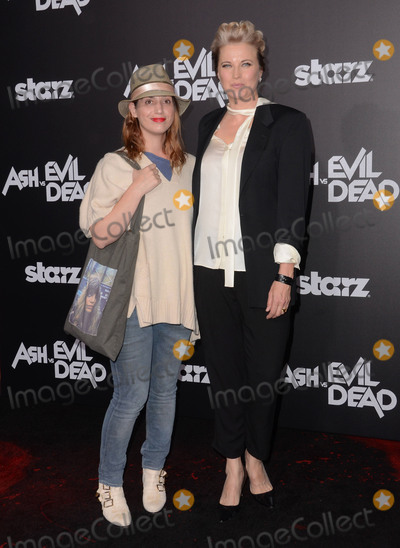 Lucy Lawless Photo - 28 October - Hollywood Ca - Diva Zappa Lucy Lawless Arrivals for Starzs Ash vs Evil Dead Los Angeles premiere held at The TCL Chinese Theater Photo Credit Birdie ThompsonAdMedia